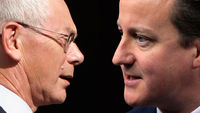 Herman van Rompuy and David Cameron (Reuters)