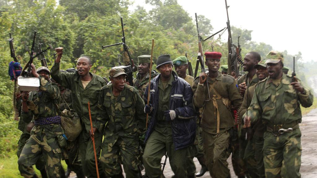 M23 rebels in Congo/Rwanda.  (Reuters)