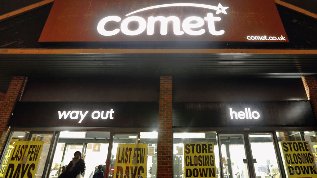 Comet to close 125 stores before Christmas