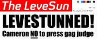What would real tabloid make of the Leveson story?