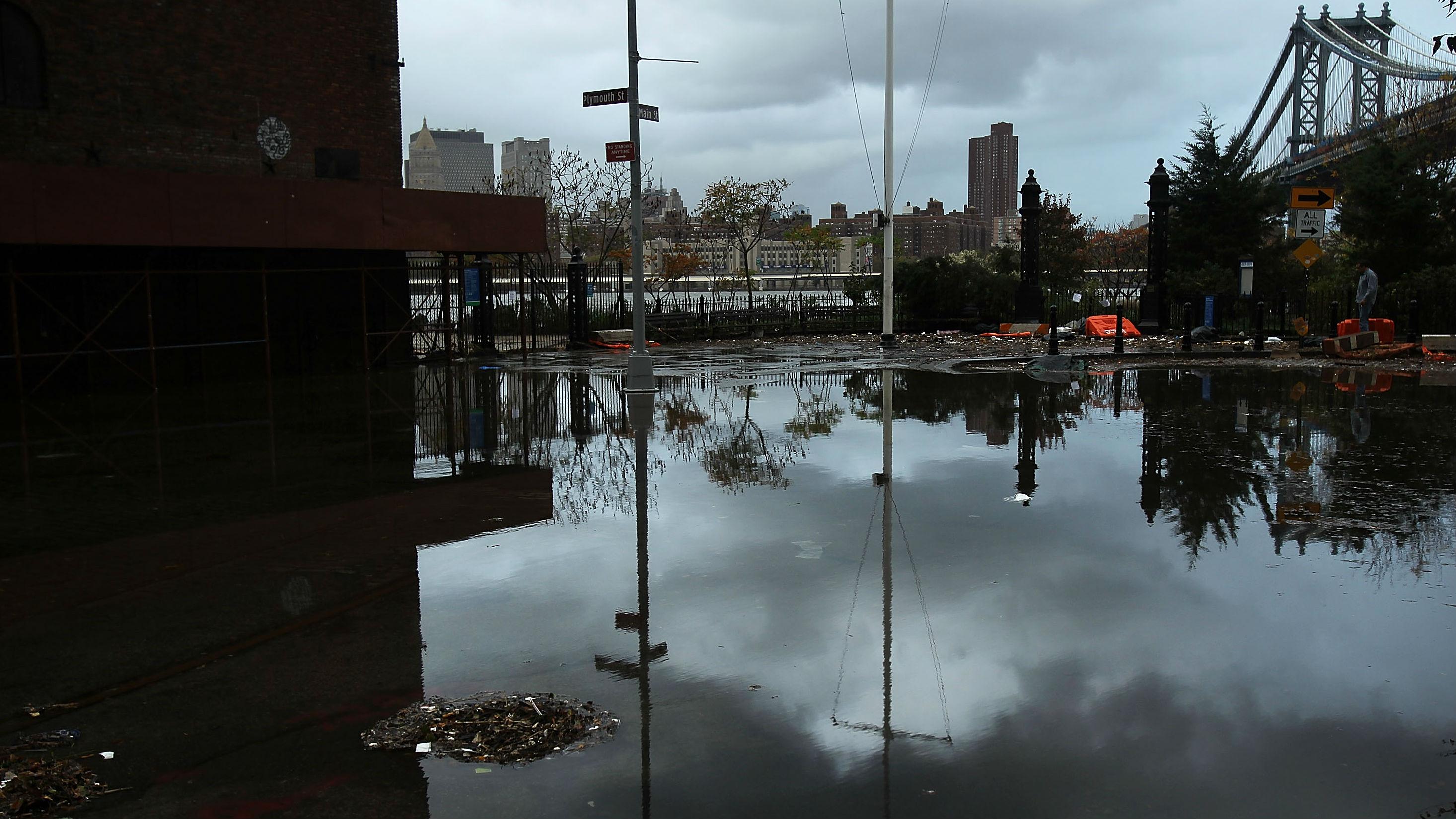 flood damage in Brooklyn (getty)