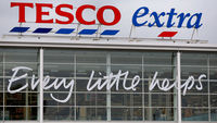 Tesco store profits retail rise fall
