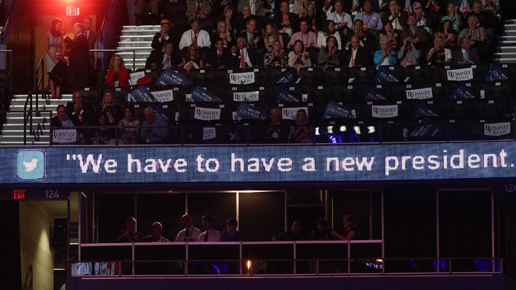 Tweets from the US presidential debate.