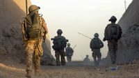 British soldier in Afghanistan (Reuters)