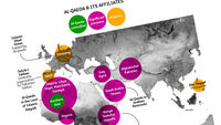 Channel 4 News maps the new frontiers of the terror network al-Qaeda and its affiliates across Europe, Africa and the Middle East.