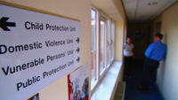 A pilot scheme to give victims of domestic abuse greater protection from violent partners by immediately banning the abuser from the victim's home wins praise from police.