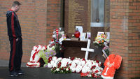 Hillsborough memorial at Anfield (Reuters)