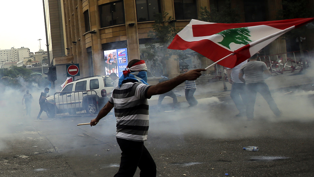 Violence follows funeral of official in Lebanon