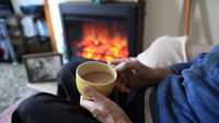 A third of people say they are having difficulties paying their gas and electricity bills, but fewer than half would talk to family and friends about this (Getty)