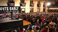 michelle obama at vote early rally (getty)