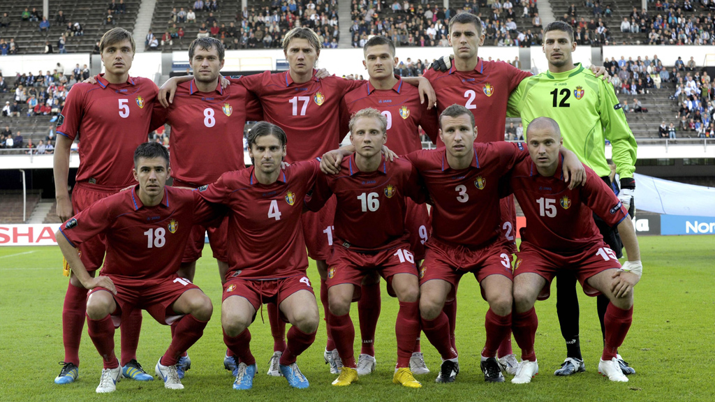 Moldovan football team (Reuters)