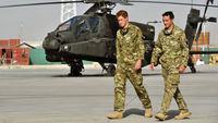 Prince Harry in Afghanistan (Reuters)