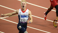 Profile of Jonnie Peacock, Paralympic gold 100m winner (Image: Getty)