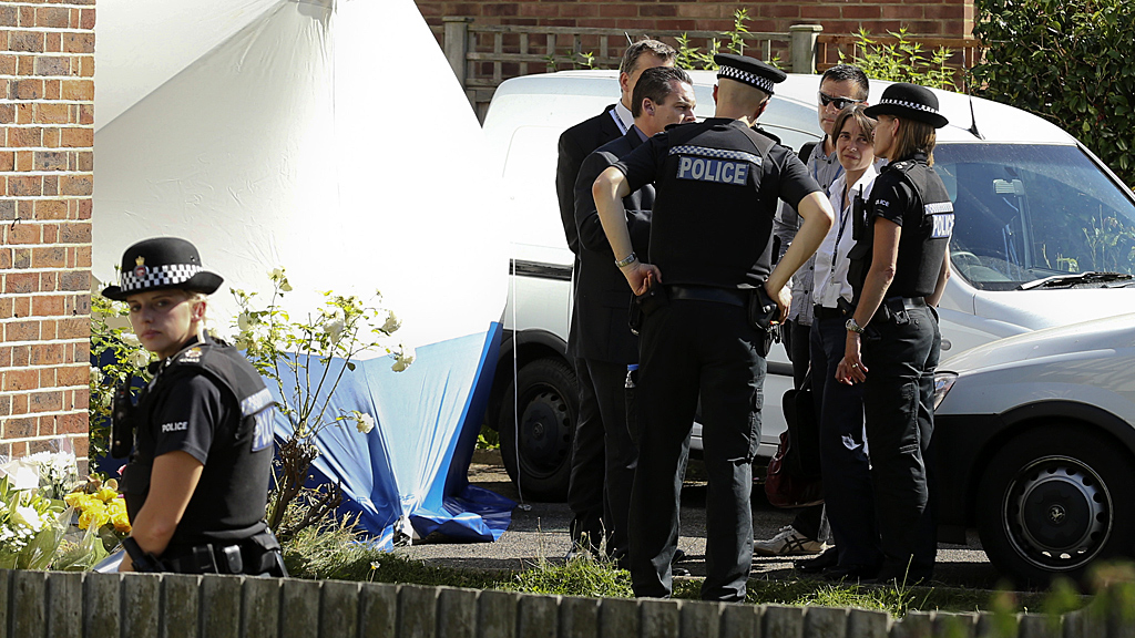 French Alps shooting: police continue to search Surrey family home (Image: Reuters)