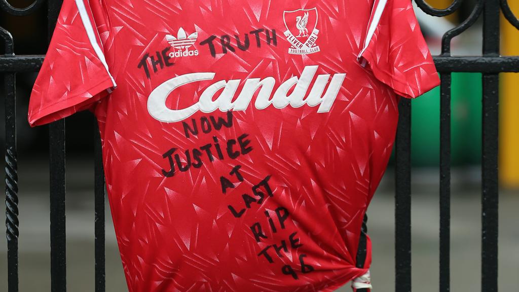 A Liverpool shirt (Reuters)