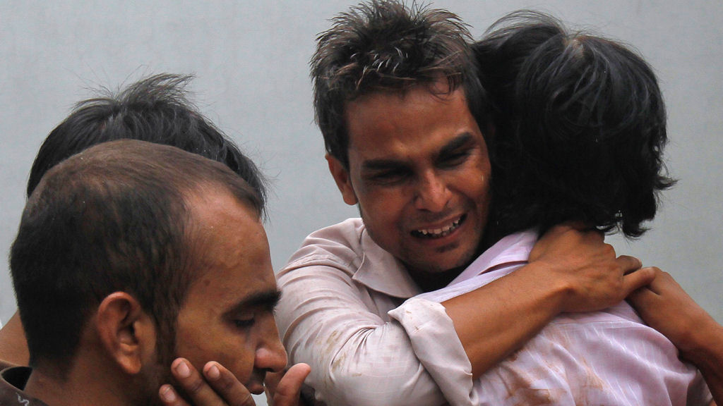 Hundreds dead in Pakistan factory fires (Reuters)