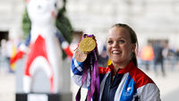 Ellie Simmonds launches Paralympics legacy with Sainsbury's (Image: Getty)