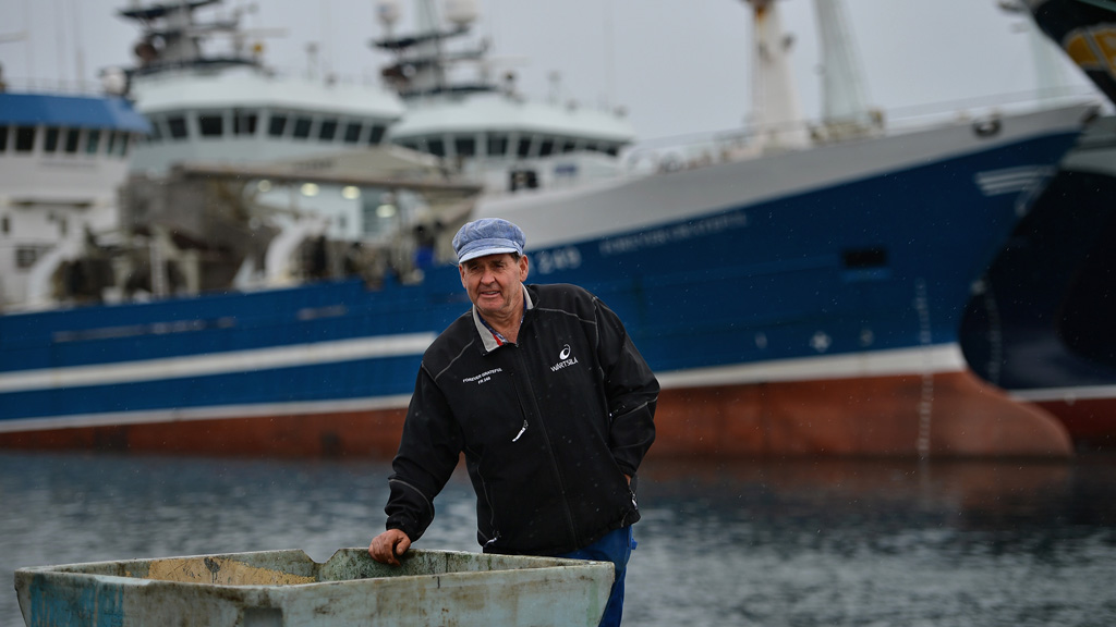 A trawler fisherman in Scotland (Getty)
