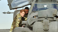 Prince Harry was the target of an attack on Camp Bastion the Taliban have told Channel 4 News (Getty)