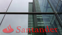 Santander logo (Getty)