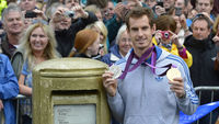 Andy Murray returns to his home town of Dunblane (Reuters)