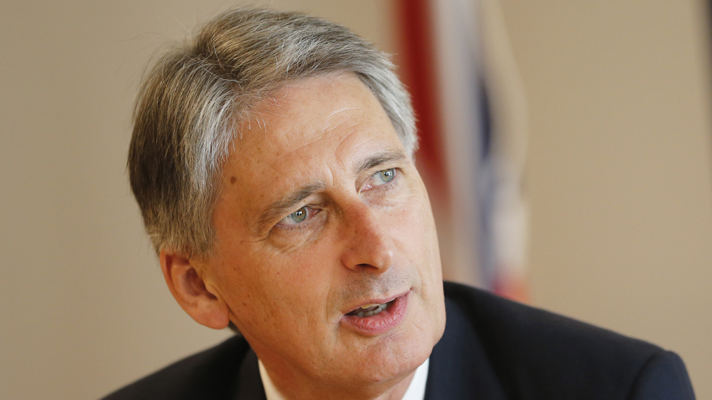 Defence Secretary Philip Hammond (pic: Reuters)