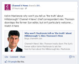 Alex Thomson on Facebook