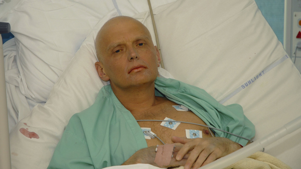 Former spy Alexander Litvinenko (Getty)