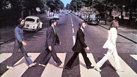 Cover artwork of the Beatles' Abbey Road album (Getty)