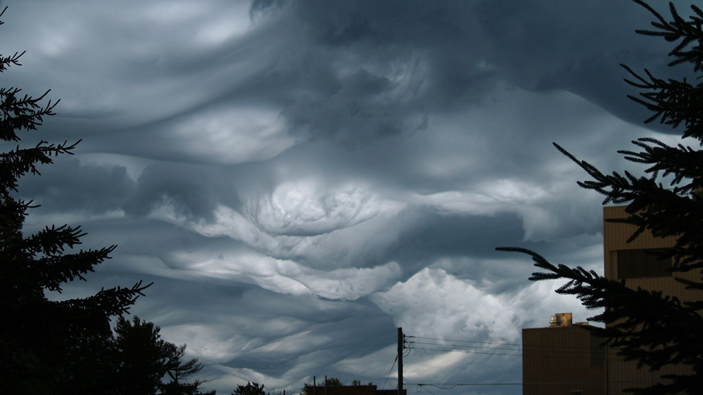 Over Des Moines, Iowa, US. By Danielle Maxwell.