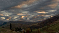 Over Schiehallion, Perthshire, Scotland. By Ken Prior / Cloud Appreciation Society