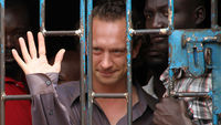 British producer David Cecil, who faces two years in a Ugandan prison for his involvement in a play about homosexuality (Reuters)