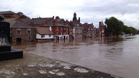 River Ouse at second highest level ever recorded in York (Paul Watson)