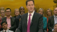 Nick Clegg's marching band - autotuned.