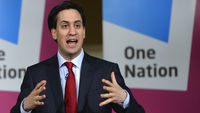 Ed Miliband has vowed to give councils powers to prevent their high streets becoming saturated with payday lenders (picture: Reuters)