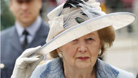 Margaret thatcher has died from a stroke aged 87, her spokesman Lord Bell says (picture: reuters)