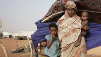 Malian refugees fleeing the conflict in their own country are facing a battle against disease and manutrition in refugee camps (picture: Reuters)