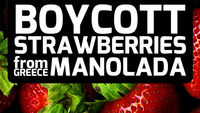 Workers shot in Greece spark social media #bloodstrawberries campaign (Twitpic)