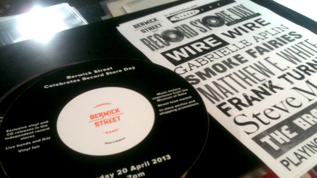 Record Store Day encourages people into independent record stores with limited edition vinyl, and a host of events (picture: David Doyle)