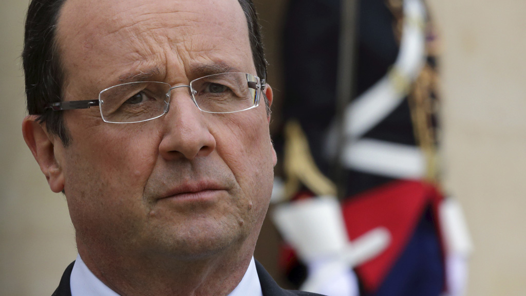 Francois Hollande has called the explosion an attack on all country's fighting terrorism (picture: Reuters)