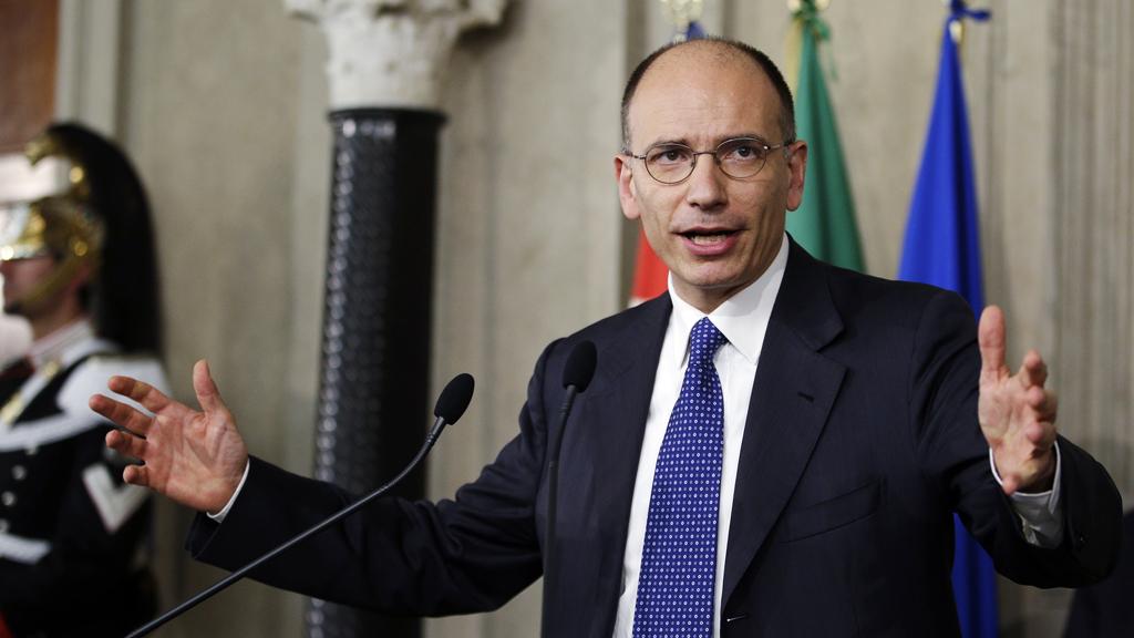 Italian prime minister designate Enrico Letta (Reuters)