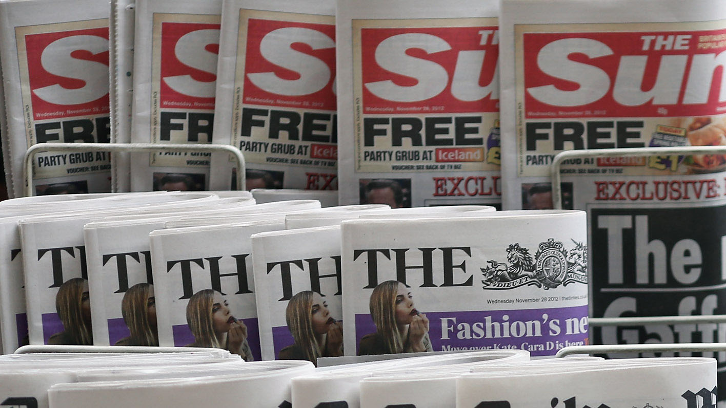 News International, which publishes the Sun and the Times, is one publisher calling for an alternative system of self-regulation