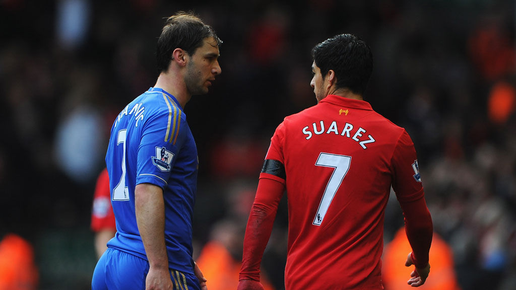 With Liverpool striker Luis Suarez accepting his 10-match ban for biting another player, Sports Reporter Jordan Jarrett-Bryan looks at the reaction to the controversy (Getty)