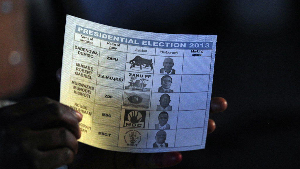 Zimbabwe's opposition has made claims of vote rigging in the election