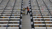 Amazon warehouse worker (Reuters)