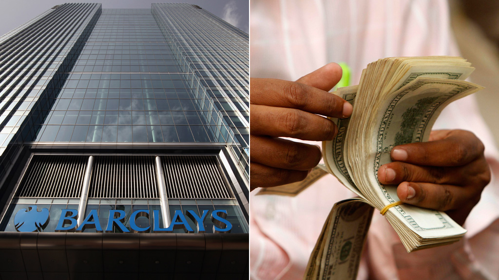 A petition of 20,000 signatures to go to Downing Street over Barclays' plans for remittance services (pictures: Getty, Reuters)