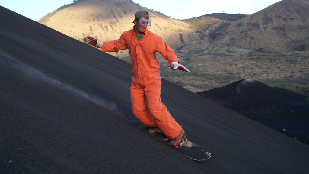 Volcano surfing (picture: Getty)