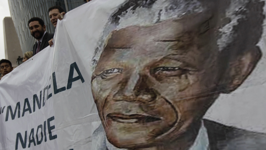 Nelson Mandela's condition is improving, South African president Jacob Zuma says (picture: Reuters)