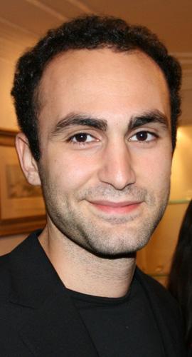 Actor and director Khalid Abdalla