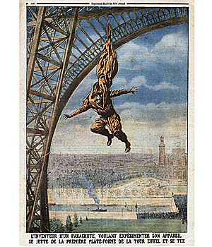 French parachutist (Image: Getty)